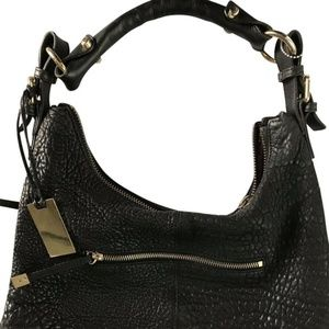 Vince Camuto Pebbled Leather Tote Bag